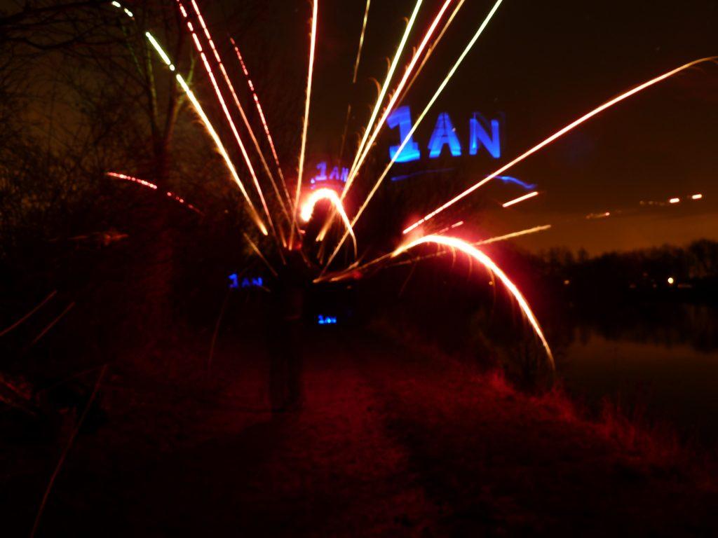 Explosion de joie sur les rives du parc du Héron!