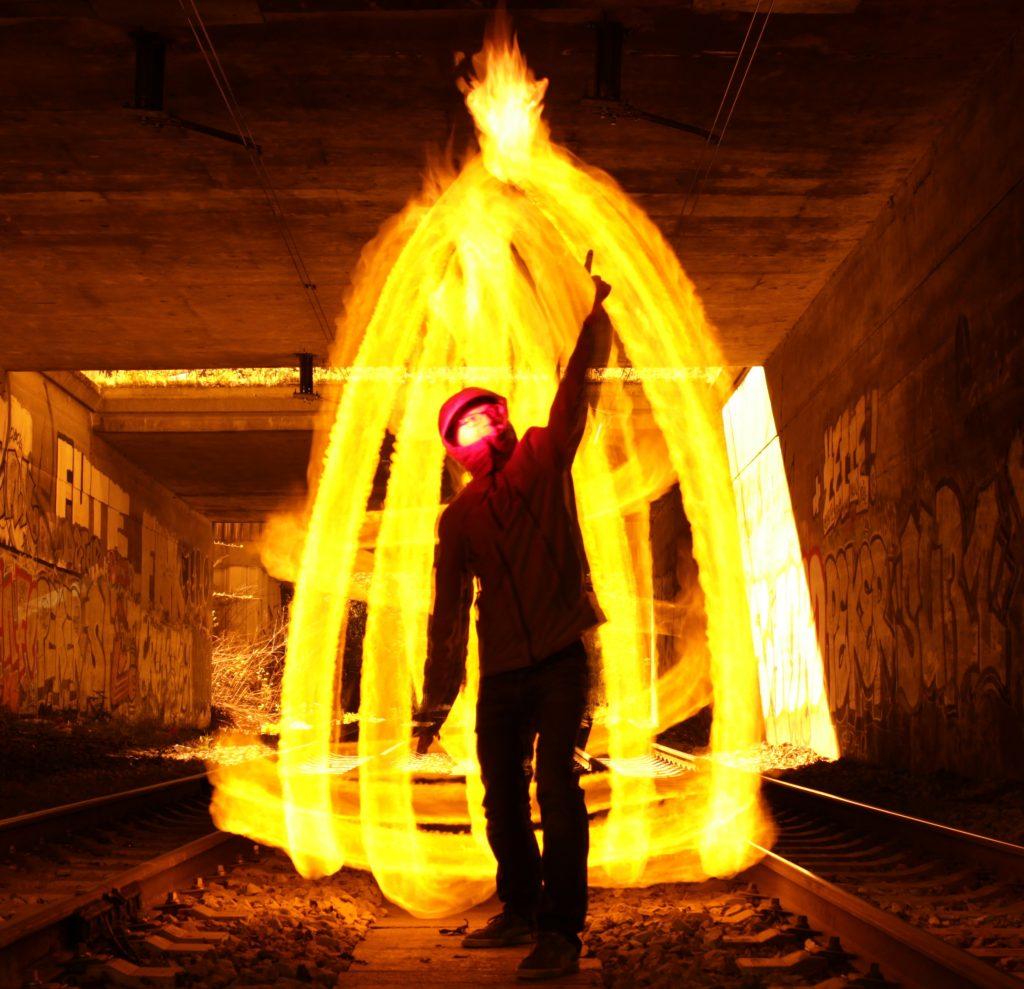didier sur les rails en feu